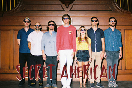 Secret American (Album Release Show) w/ Satellite Hearts and The Mysteries